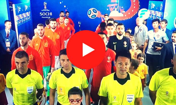 Repetición España vs Portugal