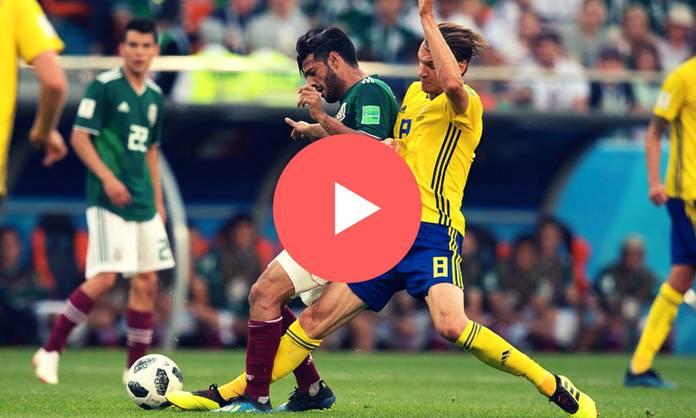 repetición del México vs Suecia (Mundial 2018)