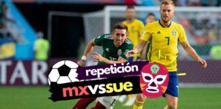 repetición del México vs Suecia