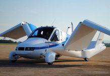 primer auto volador del futuro