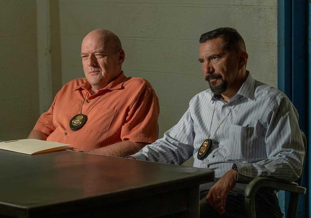 Hank y Gomez en Better Call Saul