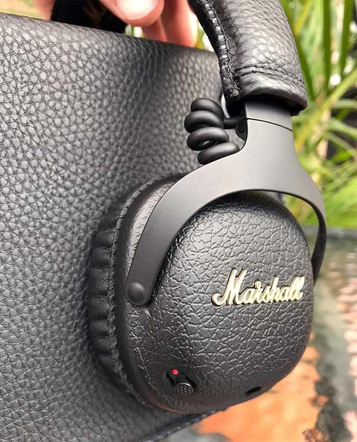 Audífonos Marshall: cancelación de ruido