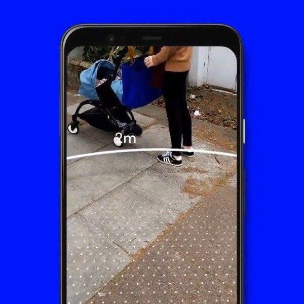 Sodar app de Google